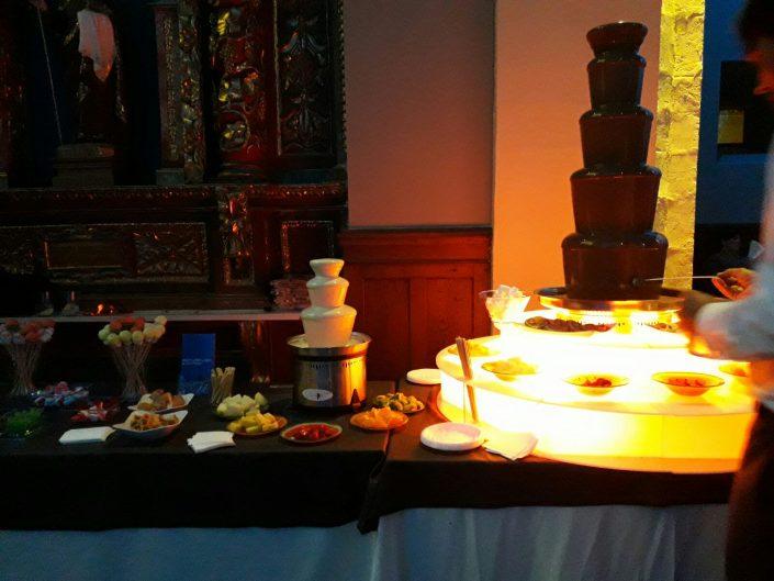Fuentes de chocolate candy bar bodas eventos asturias oviedo gijon aviles leon cantabria bilbao